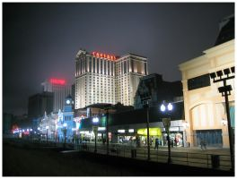 Atlantic City in Summer by ShadowWalkerInc