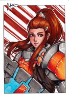 Overwatch - Brigitte by Hedrick-CS