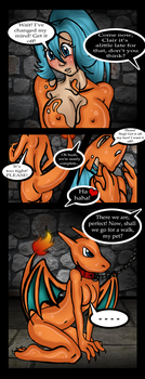 Clair The Charizard By Tilly Monster (Female suit) by CrashGordon94