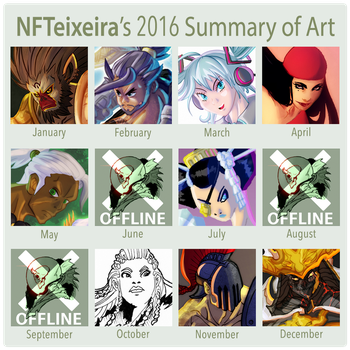 Another year in art by nfteixeira