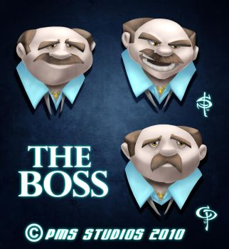 The Boss- Concept 1 Colors by Smitty-Tut