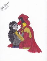 Please be safe, Azrael... by Pastel-Piggy-Queen