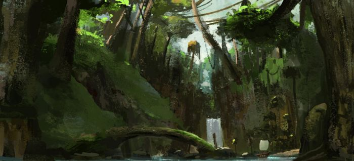 Deep Forest by grapholic