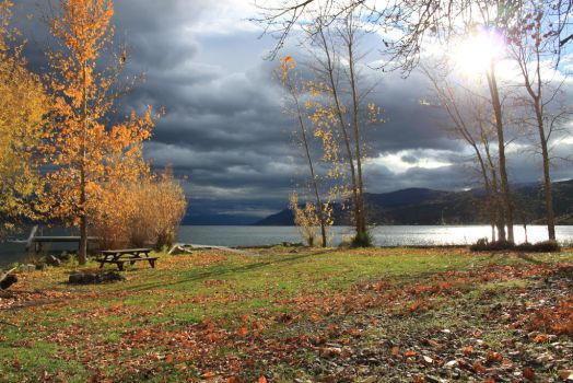 Okanagan Lake Nov. 2014 001 by Spillsin