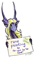 Thelxinoe Wants to Paint You! by mcah