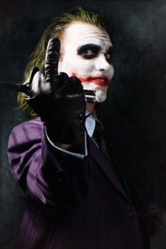 My Gift To You - Joker cosplay by Carancerth