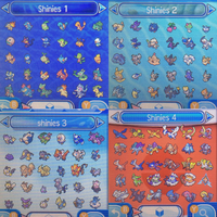 Shiny Pokemon FOR TRADE ! [OPEN] by M0NSTERPAWZ