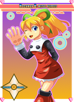 Roll (Rockman 8 Style) by Shinobi-Gambu