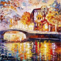 The Thurst of Time by Leonid Afremov by Leonidafremov
