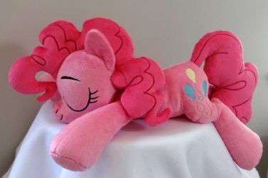 Sleeping Pinkie Pie Plush by JanellesPlushies