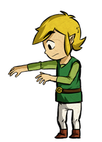Link Outgrew his Tunic by Icy-Snowflakes