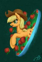 Apple hole by 1Jaz