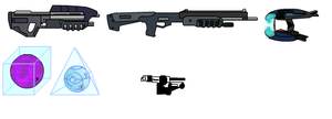Halo weapons by CD-Hunter00