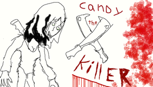 Candy the killer by jasongreen