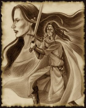 Same fate as Beren and Luthien by Norloth