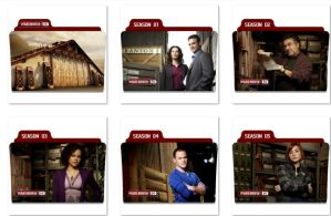 Warehouse 13 Folder Icons by nellanel