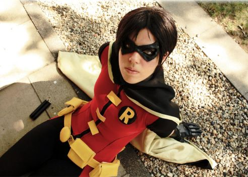 Robin cosplay - Young Justice by Tenraii