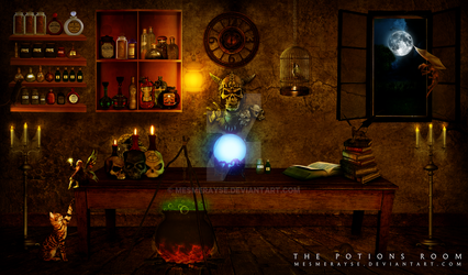 The Potions Room by mesmerayse