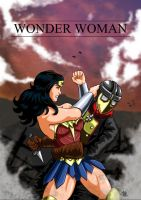 Wonder Woman Vs Baron Reiter by adamantis