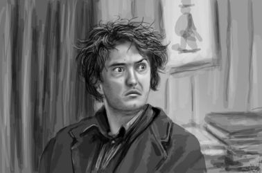 Bernard Black - Black Books by Michalesa