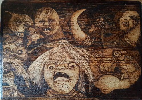 labyrinth table top by rainbow-falls