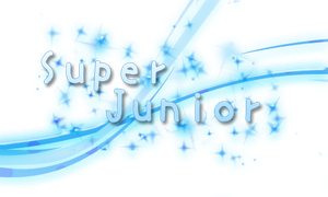 Super Junior Text PNG by MegaBleachy