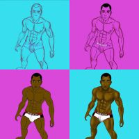 In Process... Supers in Logo Briefs: Mr Terrific by TumbledHeroes