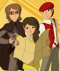 We're Not Lost, Are We? - Professor Layton Fanfic by CoolFireBird
