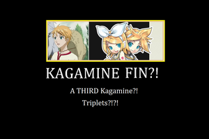A THIRD Kagamine Poster by RosarioFlytrapRose