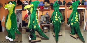 Dweeb Dino Remake of old Costume by AtalontheDeer