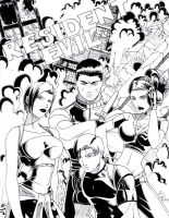 Resident Evil Issue Cover ptII by Ari-Spike-Nadelman