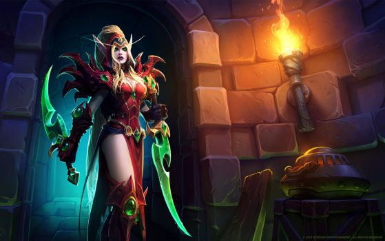 Valeera Sanguinar, Shadow of the Uncrowned by Mr--Jack