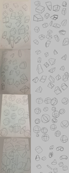 Week 1: 3D Shapes by osarumon