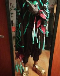 Zant outfit [In progress] by Angler-Shark