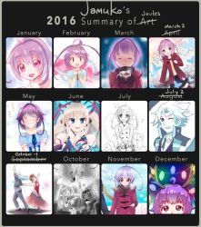 2016 Summary of Art by jamuko