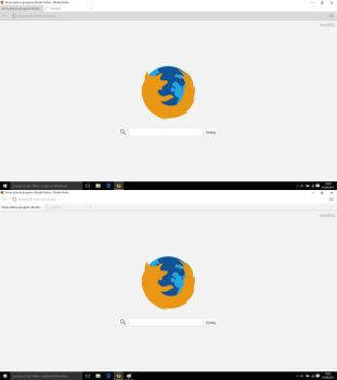 Windows 10 Firefox Theme by maxxdogg