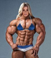 A muscular beauty by hlol123