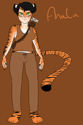 Reference Sheet: Anala Mritue by A-Fox-Of-Fiction