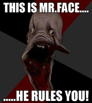 This is Mr.Face..... by RemixPop122