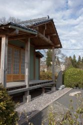 Japanese traditional house 2 by ManicHysteriaStock