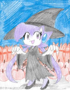 Lilac the Wicked Hedgehog Witch by Edxtreme