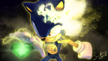Super Sonic Transformation (Sonic Model 3.0) by samanthann1234