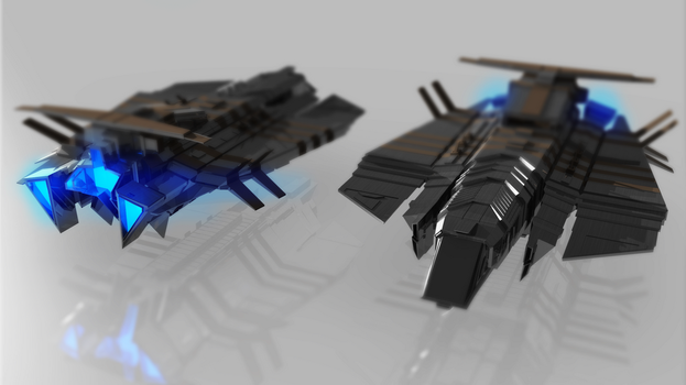 Zephyr - Scout Ship by JPGProduction