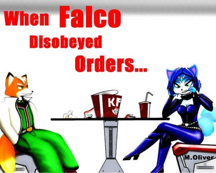 When Falco Dissobaied Orders by WoadedFox