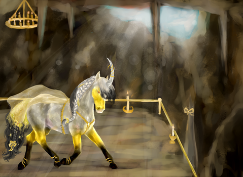 [Competition] Royally Gilded by SpiritWindcaper