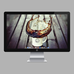 Thunderbolt Display: SVG by bokehlicia