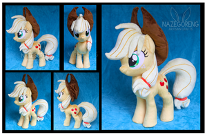 Applejack Custom Plush by Nazegoreng