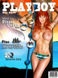 Playboy Cover - Nami by LograySon