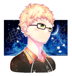 Tsukishima Kei | COMMISSION by SuricateDash