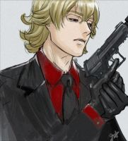 Ouroboros Barnaby by frogstarr